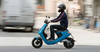 Vespa typen av moped